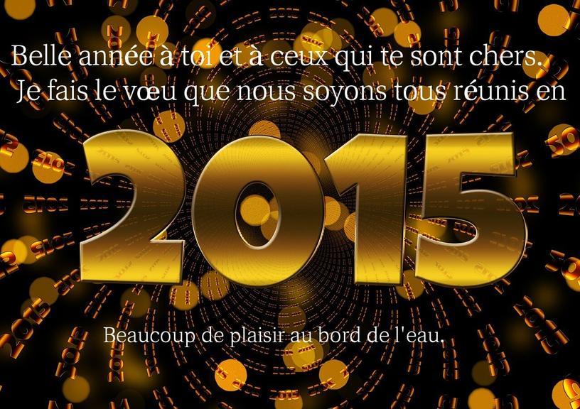 bonne et heureuse annee 2015