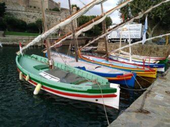 le village de Collioure dans les Pyrénées Atlantiques