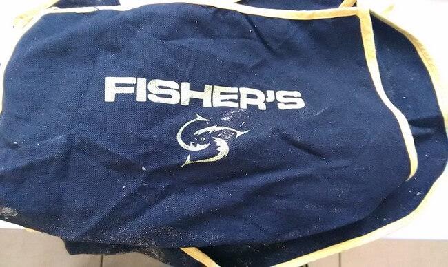 tablier de pêche