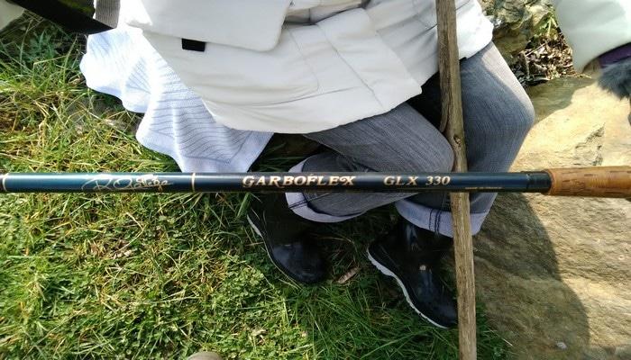 Ouverture truite en Sarthe canne garboflex 3.30