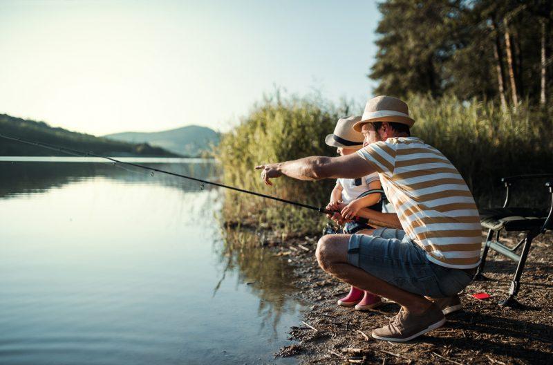pêche en été comment se vêtir ?