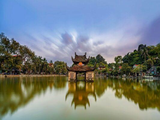 vietnam-la peche en lac