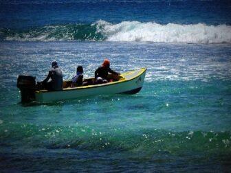les Seychelles - Photographier - Pêche au gros aux Seychelles,la mer